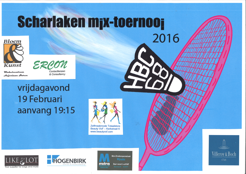 Scharlakentoernooi 2016